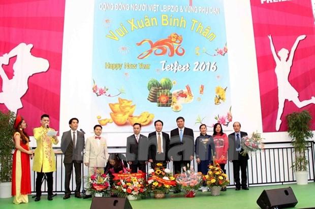 Promueven cultura vietnamita en Alemania hinh anh 1