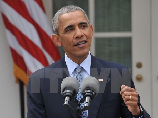 Barack Obama anuncia medidas para fomentar nexos economicos con Sudeste de Asia hinh anh 1
