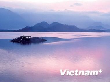 Inician en Vietnam proyecto turistico del lago Nui Coc hinh anh 1