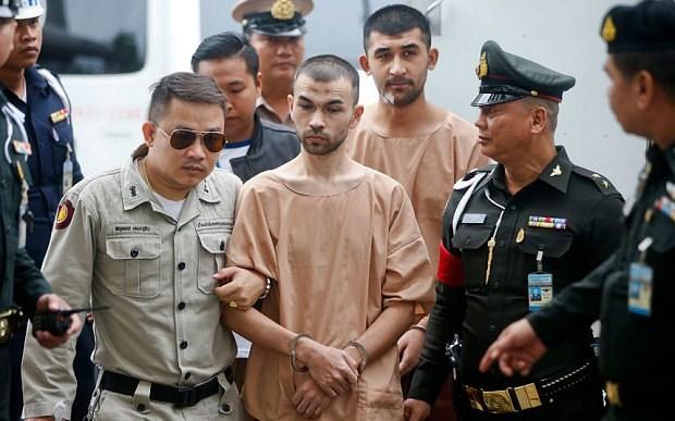 Atentado de Bangkok: Dos sospechosos negaron acusaciones hinh anh 1