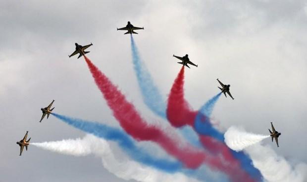 Destacan potencialidades del sector aereo vietnamita en Singapore Airshow hinh anh 1