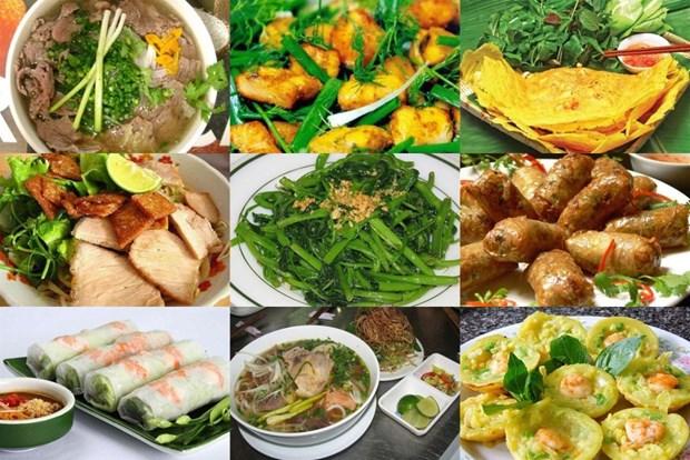 Feria gastronomica vietnamita atrae interes de visitantes rusos hinh anh 1