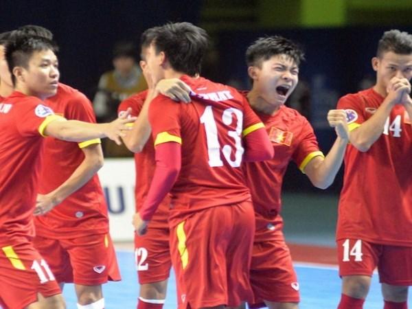Vietnam gana por primera vez boleto a Copa Mundial de futsal hinh anh 1