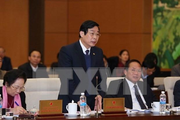 Comite Permanente de Asamblea Nacional continua debates hinh anh 1