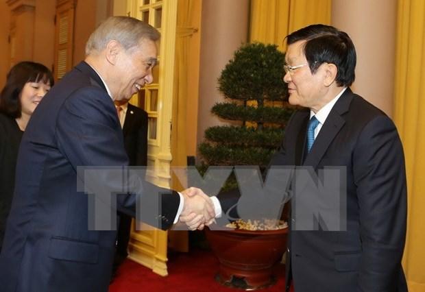 Presidente de Vietnam apoya cooperacion con prefectura nipona hinh anh 1
