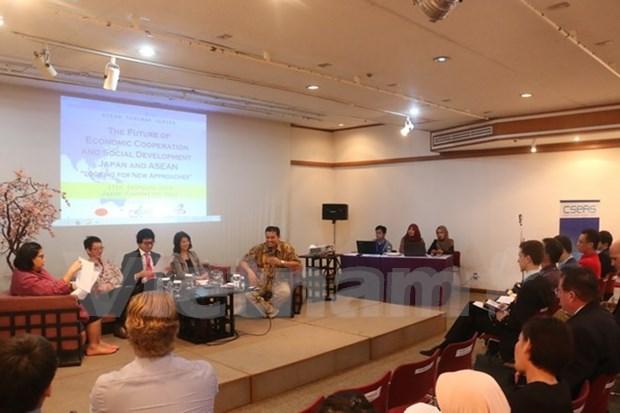 Perspectivas de cooperacion ASEAN - Japon bajo lupa de expertos hinh anh 1