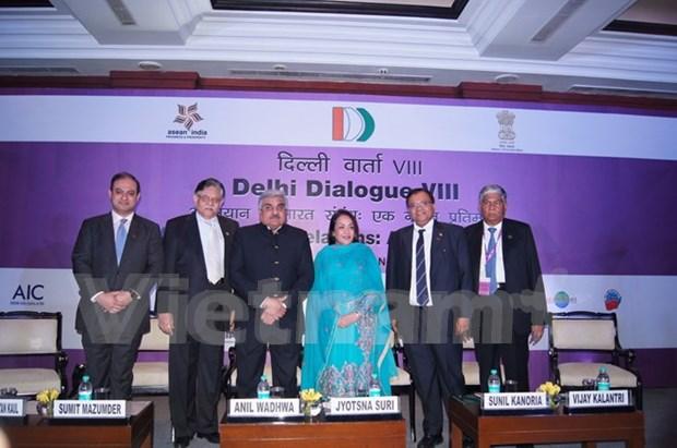 Octavo Dialogo de Delhi en busca de nuevo paradigma para nexos ASEAN – India hinh anh 1
