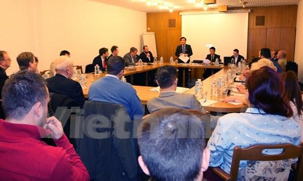 Empresas vietnamitas buscan oportunidades de cooperacion en Republica Checa hinh anh 1