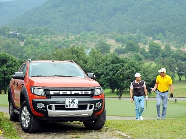 Ventas de Ford Vietnam logran record en enero hinh anh 1