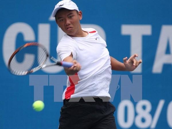 Tenista vietnamita avanza a cuartos finales en torneo en China hinh anh 1