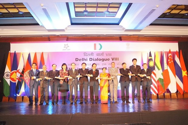 Vietnam participa en octavo Dialogo Ministerial Delhi hinh anh 1