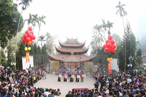 Fiestas primaverales en el Norte de Vietnam hinh anh 1