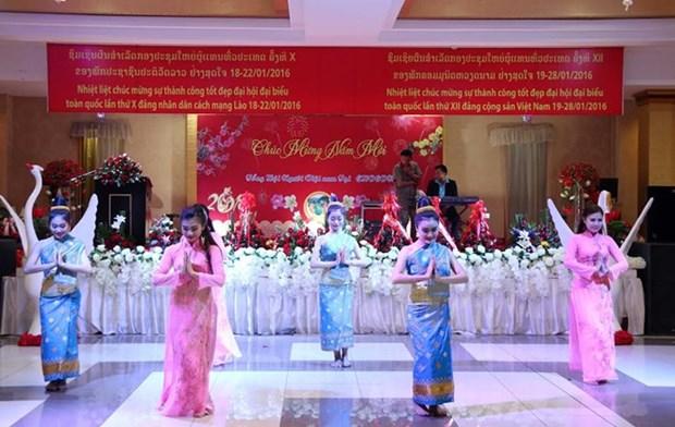 Resaltan exitos de los congresos partidistas en Vietnam y Laos hinh anh 1