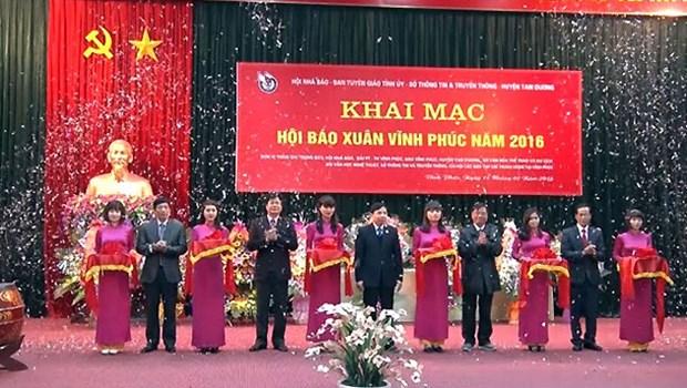 Efectuan Festival Primaveral de la Prensa en distintas provincias vietnamitas hinh anh 1