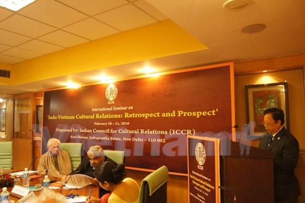 La India aspira a fomentar nexos culturales con Vietnam, dijo vicecanciller hinh anh 1