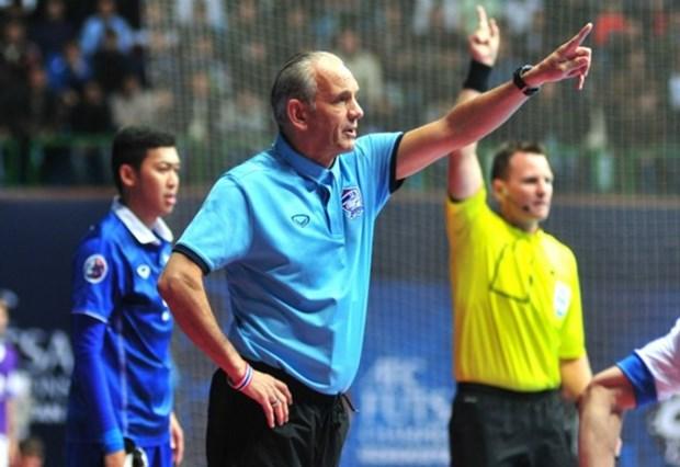 Vietnam pierde otra vez ante Tailandia en Campeonato Asiatico de Futbol Sala hinh anh 1