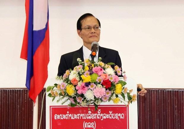 Laos anuncia principales contenidos de proximas elecciones generales hinh anh 1
