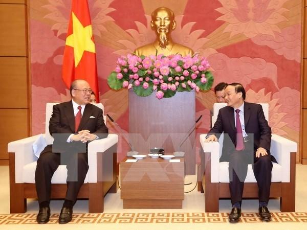 Grupos parlamentarios de Vietnam y Japon impulsan vinculos hinh anh 1