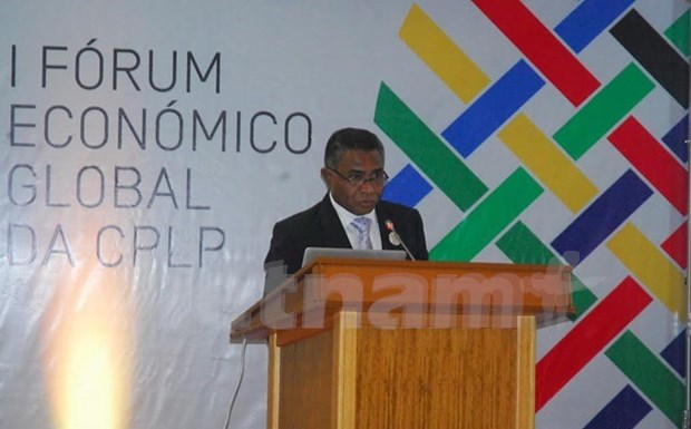 Inauguran segunda reunion ministerial de la Comunidad lusofona hinh anh 1