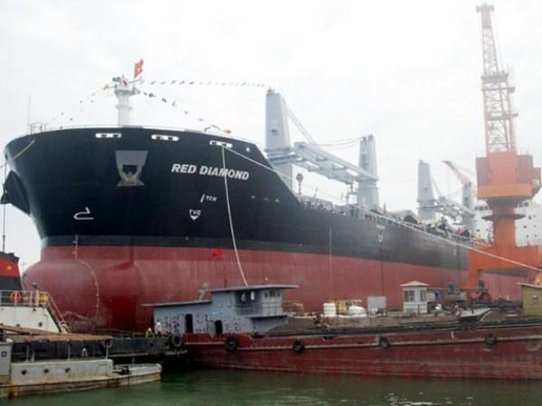 Inauguran exposicion de la industria naval de Vietnam hinh anh 1