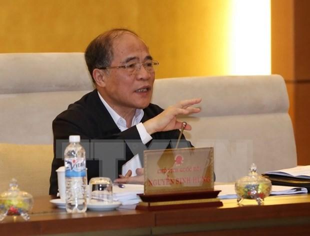 Asamblea Nacional de Vietnam revisa actividades en la XIII legislatura hinh anh 1
