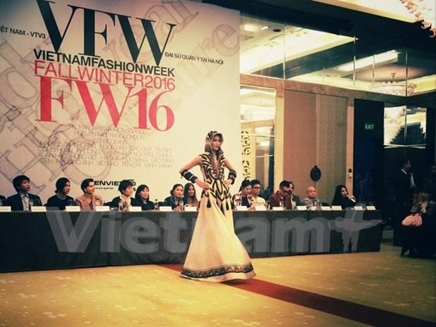 Semana de moda otono – invierno Vietnam presentara materiales valiosos de Japon hinh anh 2