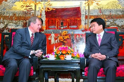 Visita Vietnam delegacion de Iglesia mormona de Estados Unidos hinh anh 1