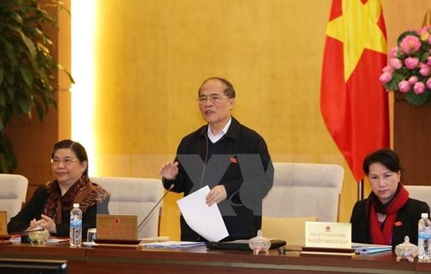 Concluye reunion 45 del Comite Permanente del Parlamento de Vietnam hinh anh 1