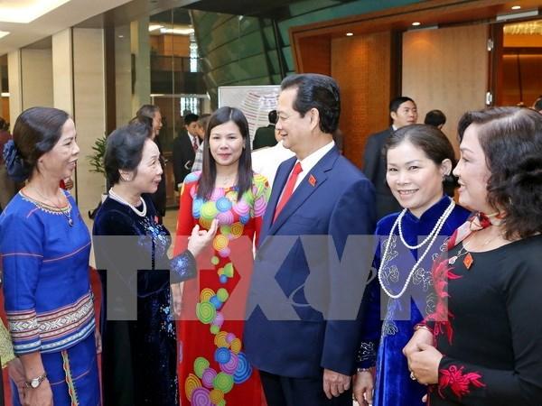 Promueven desempeno de prensa en fomento del rol femenino en organos politicos hinh anh 1