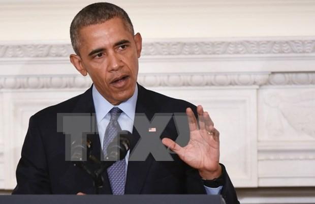 """Obama: China recurre al viejo estilo de """"la fuerza hace el derecho"""" hinh anh 1"""