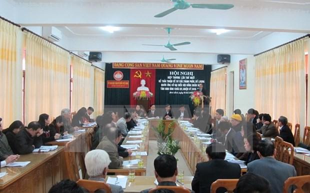 Celebran conferencia instructiva para presentar candidatos a Parlamento hinh anh 1
