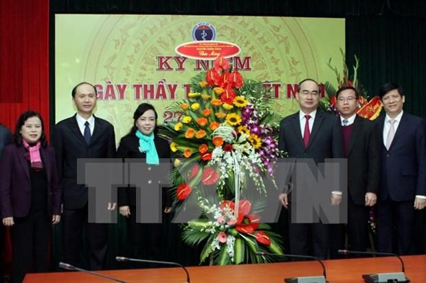 Celebran en Vietnam Dia Nacional del Medico hinh anh 1