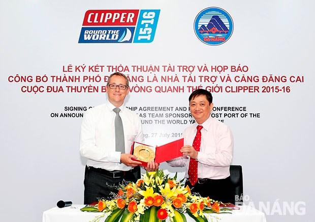 Debaten oportunidades de cooperacion entre Da Nang y socios de Clipper Ventures hinh anh 1