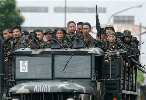 Ejercito filipino abate a mas de 40 terroristas en el Sur del pais hinh anh 1