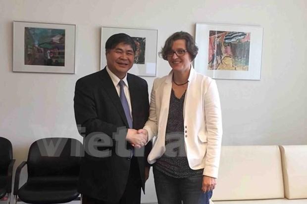 Vietnam y Alemania promueven cooperacion entre sus localidades hinh anh 1