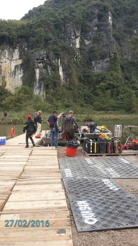 """Kong: Skull Island"" filma cuevas majestuosas de provincia Ninh Binh hinh anh 2"