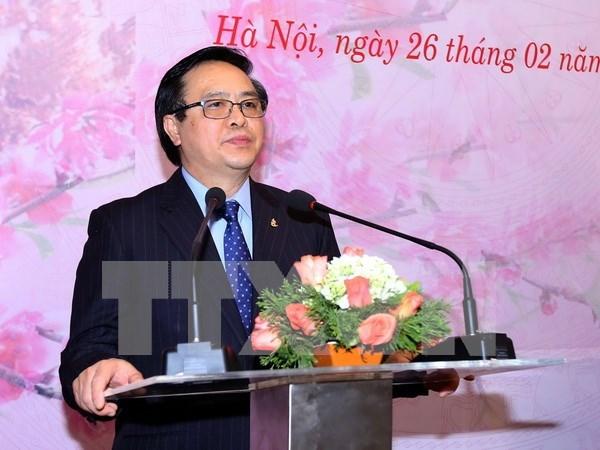 PCV continuara fomentando lazos con partidos politicos de otros paises hinh anh 1