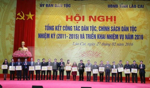 Vietnam perfecciona politicas de desarrollo para minorias etnicas hinh anh 1