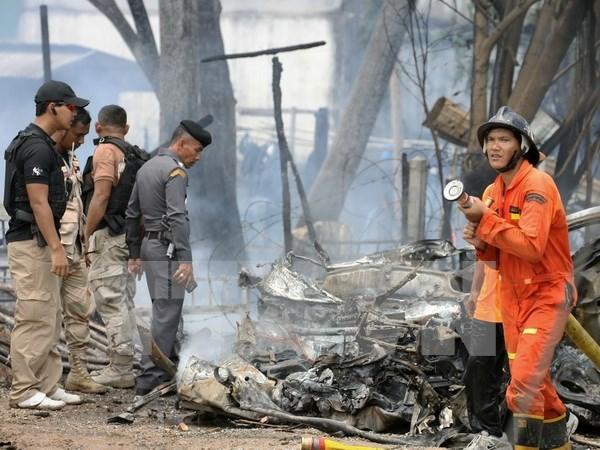 Explosion de coche bomba deja nueve heridos en el sur de Tailandia hinh anh 1