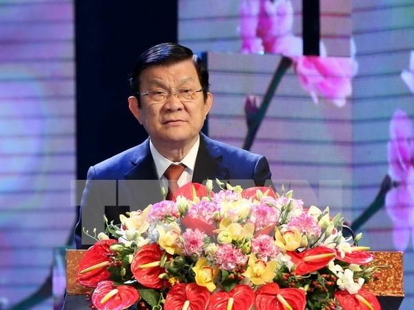 Presidente vietnamita insta al sector de salud continuar renovacion integral hinh anh 1