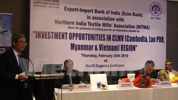 Vietnam invita a empresas indias a invertir en la industria textil hinh anh 1