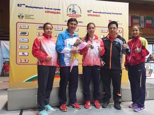 Plata para boxeadora vietnamita en torneo internacional Strandja hinh anh 1