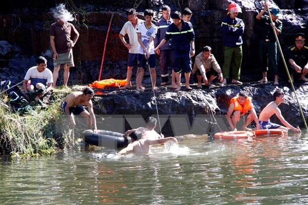 Hallan cuerpo de turista bielorruso desaparecido en cascada Pongour hinh anh 1