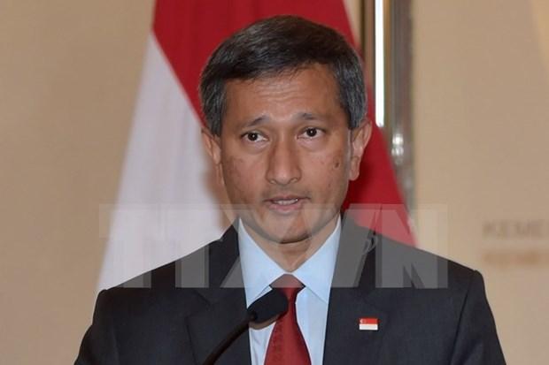 Singapur y China buscan soluciones para disminuir controversias en Mar del Este hinh anh 1