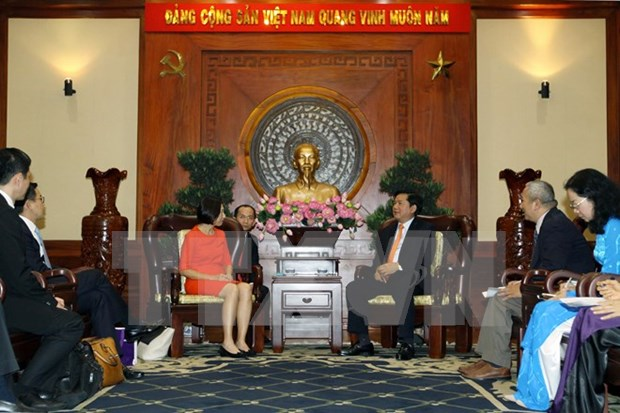 Corrobora Ciudad Ho Chi Minh disposicion de favorecer inversiones extranjeras hinh anh 1
