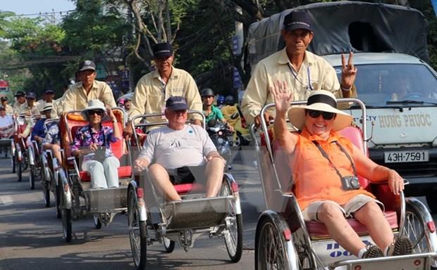 Aumenta 20 por ciento la llegada de turistas extranjeros a Vietnam en febrero hinh anh 1