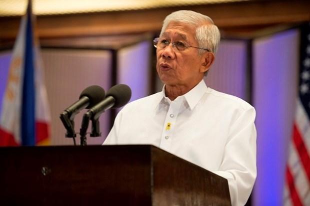 Japon y Filipinas firman acuerdos de transferencia de equipos de defensa hinh anh 1