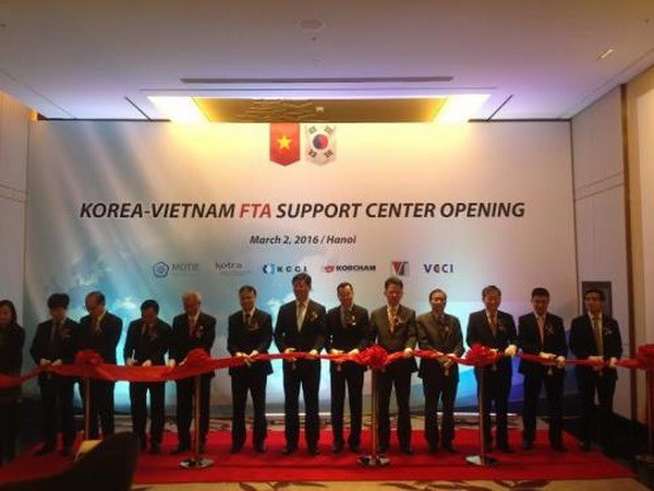 Inauguran Centro de Asistencia de TLC Sudcorea- Vietnam hinh anh 1