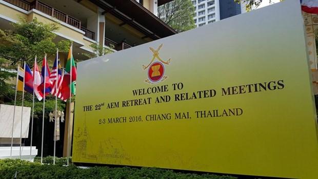 Paises de ASEAN debaten prioridades de cooperacion economica hinh anh 1