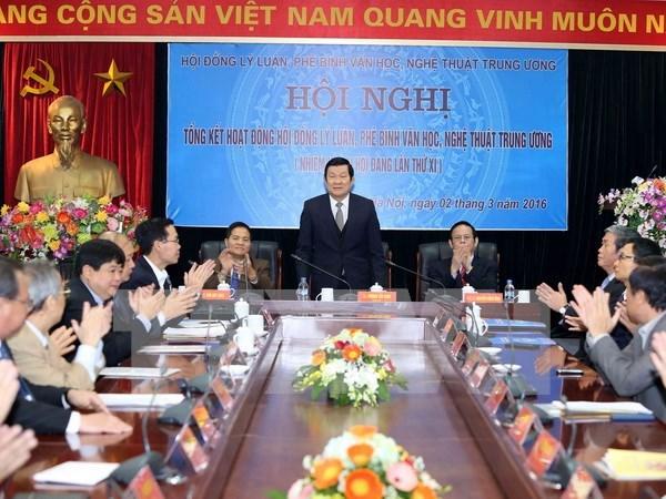 Vietnam apuesta por desarrollar cultura prenada de identidad nacional hinh anh 1